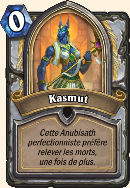 Boss Kasmut - Hearthstone Tombes de la Terreur
