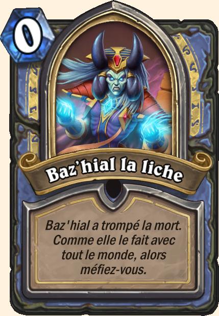 Boss Baz'hial la liche - Hearthstone Tombes de la Terreur
