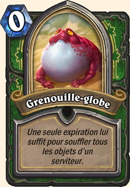 Boss Grenouille-globe - Hearthstone Tombes de la Terreur