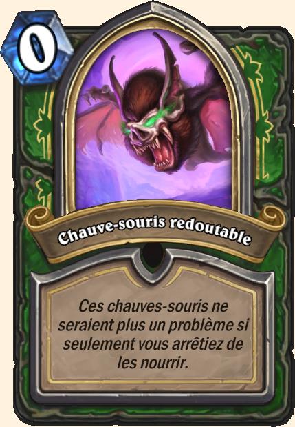 Boss Chauve-souris redoutable - Hearthstone Tombes de la Terreur