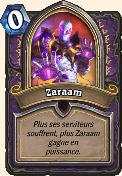 Boss Zaraam - Hearthstone Tombes de la Terreur