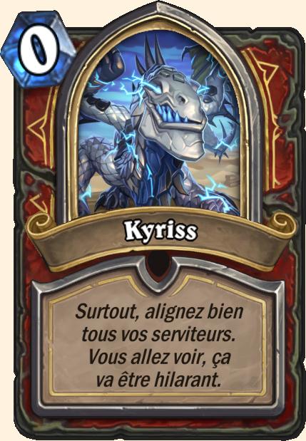 Boss Kyriss - Hearthstone Tombes de la Terreur