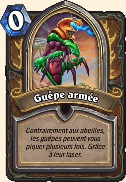 Boss Guêpe armée - Hearthstone Tombes de la Terreur