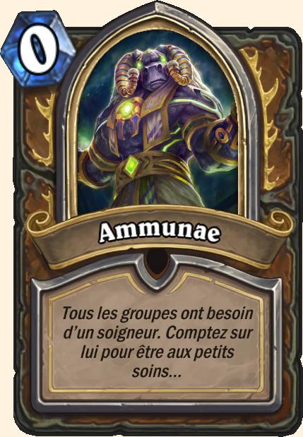 Boss Ammunae - Hearthstone Tombes de la Terreur