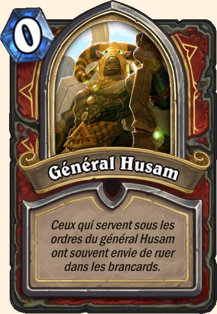 Boss Général Husam - Hearthstone Tombes de la Terreur