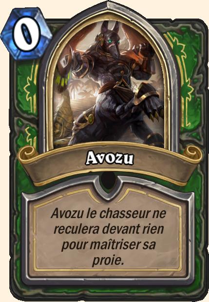 Boss Avozu - Hearthstone Tombes de la Terreur