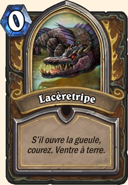 Boss Lacèretripe - Hearthstone Tombes de la Terreur