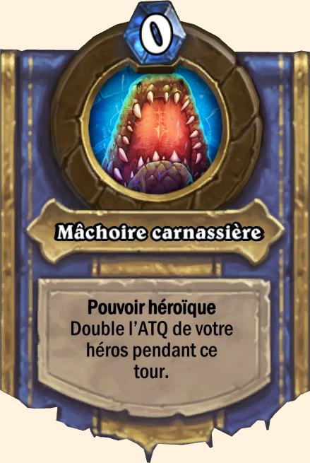Pouvoir héroïque Mâchoire carnassière