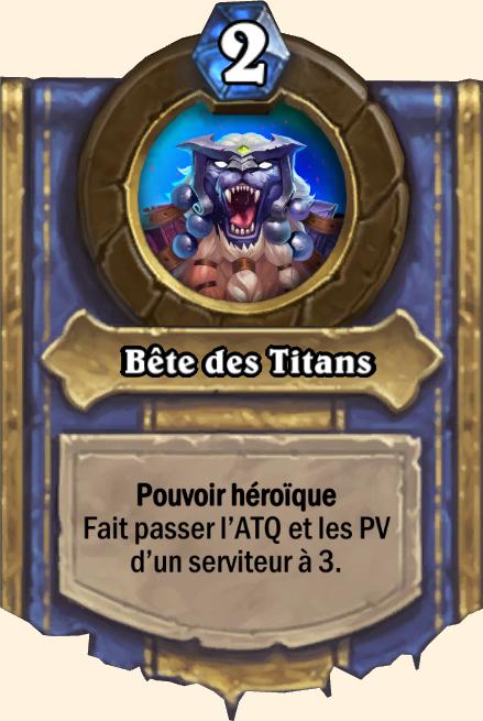 Pouvoir héroïque Bête des Titans