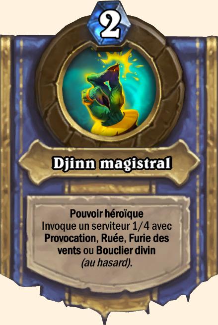 Pouvoir héroïque Djinn magistral