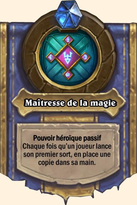 Pouvoir héroïque Maîtresse de la magie