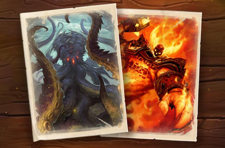 N'Zoth et Ragnaros, seigneur du feu de retour temporairement