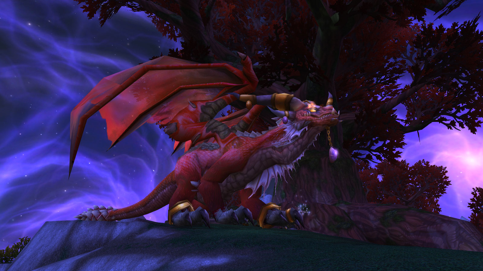 La Reine-dragon Alexstrasza dans World of Warcraft