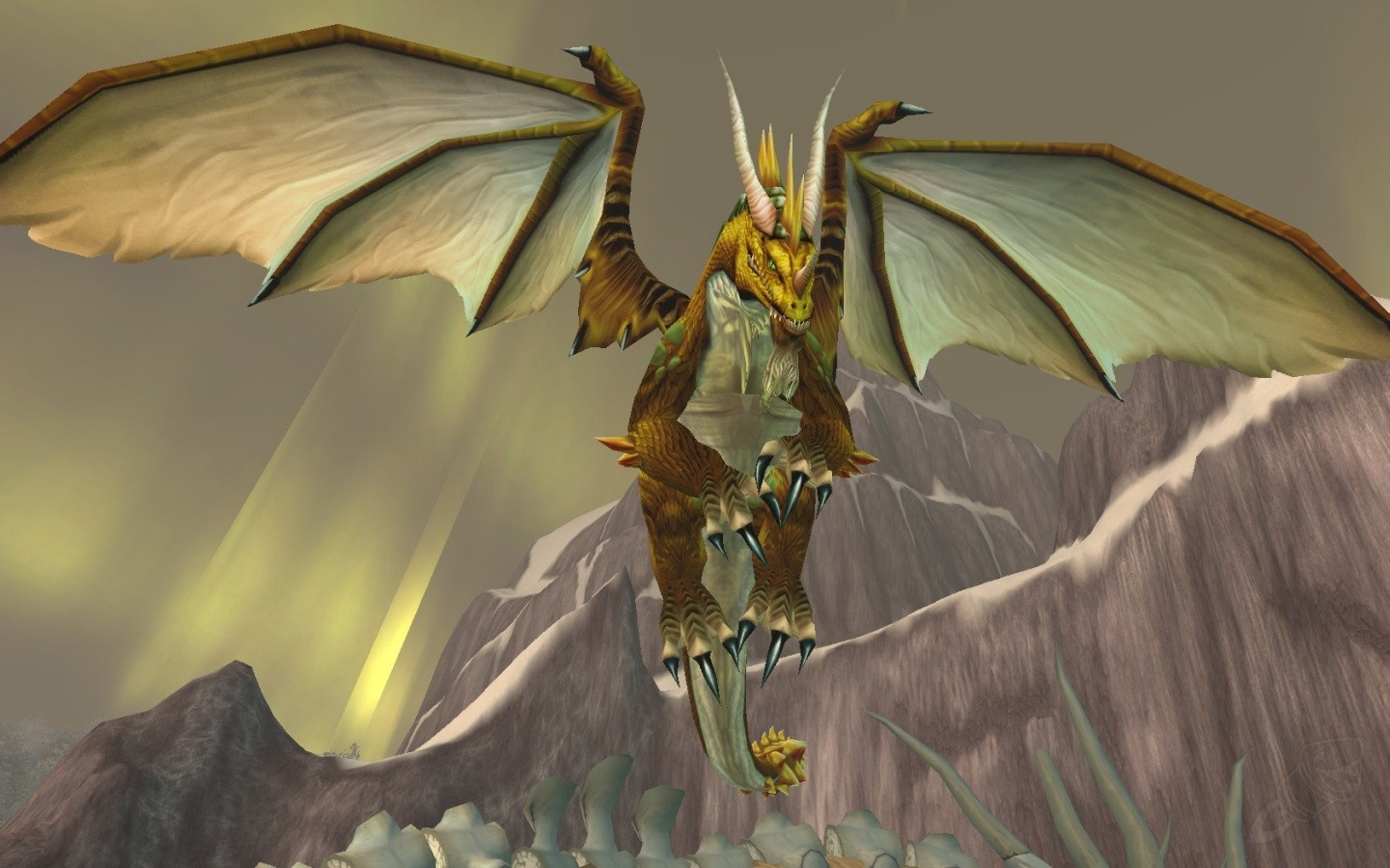 Nozdormu dans la Désolation des dragons - World of Warcraft
