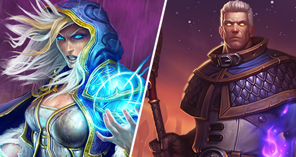 le pack mage et l'ensemble de heros khadgar desormais disponible