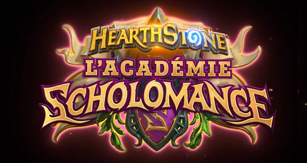 academie de scholomance : nouvelle extension hearthstone !