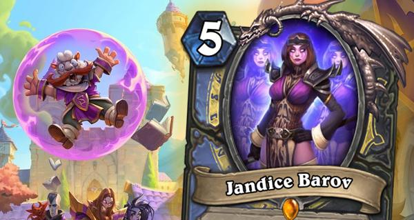 jandice barov : nouvelle carte legendaire double-classe