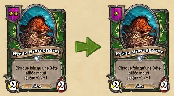 Modification Hearthstone : Champs de bataille