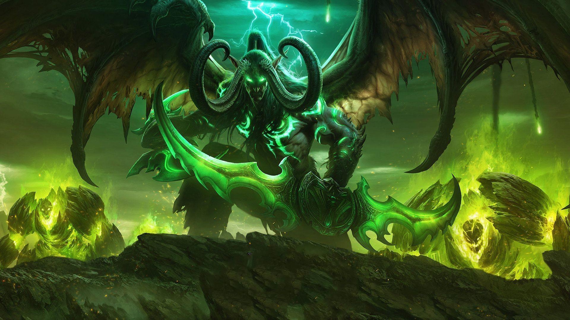 Illidan Hurlorage : Nouveau héros Chasseur de démons Hearthstone ?