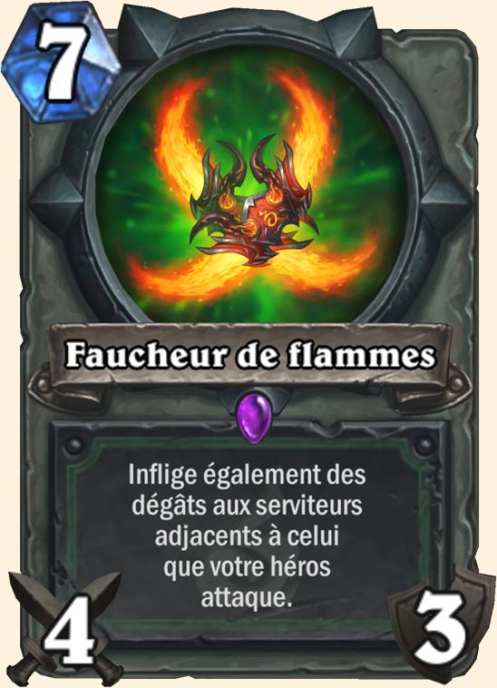 Hearthstone Carte Chasseur de demons -  Faucheur de flammes