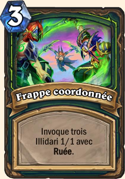 Hearthstone Carte Chasseur de demons - Frappe coordonnée