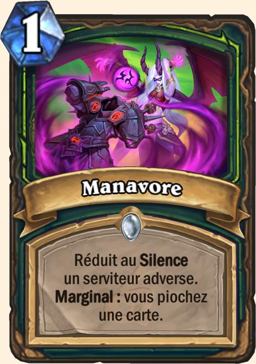 Hearthstone Carte Chasseur de demons - Manavore