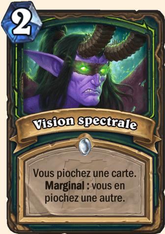 Hearthstone Carte Chasseur de demons - Vision spectrale