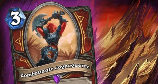 cendres de l'outreterre : competiteur cogneguerre, carte epique guerrier