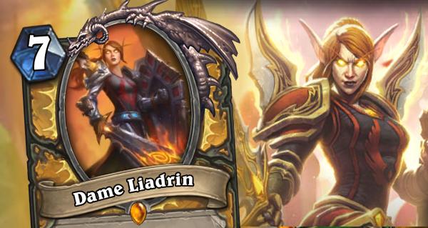 dame liadrin : nouvelle legendaire paladin des cendres de l'outreterre