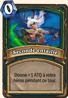 Seconde entaille
