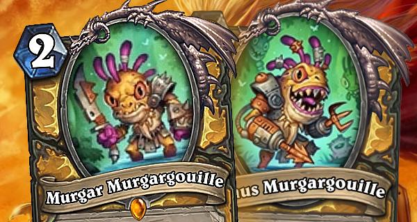 murgar murgargouille : carte legendaire murloc pour paladin