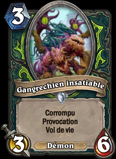 Carte Hearthstone corrompu Gangrechien insatiable