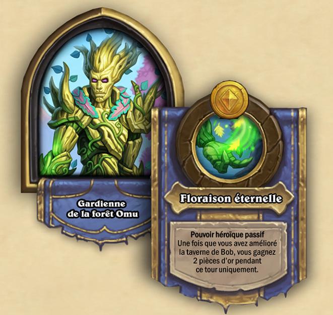 Nouveau héros de champs de bataille : Gardienne de la forêt Omu