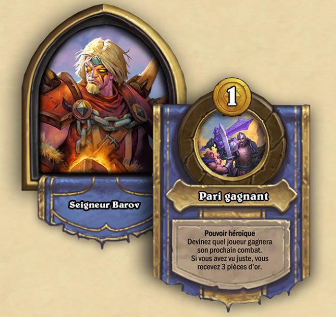 Nouveau héros de champs de bataille : Seigneur Barov