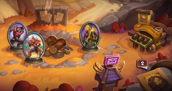 mode mercenaires : village des mercenaires et la collection