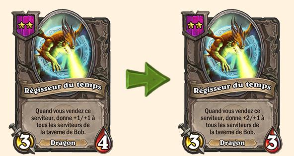 Hearthstone (20.0.2) : Équilibrage pour Régisseur du temps