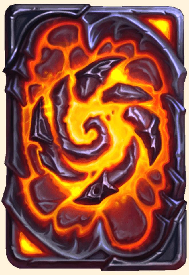 Dos de carte Hearthstone - La Fracture - Préachat mini-extension Envol des dragons