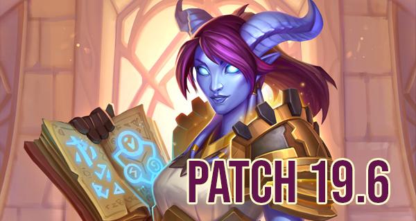 patch 19.6 : equilibrage en standard, champs de bataille et duels