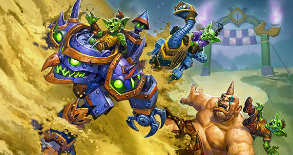 courses de sombrelune : mini-set hearthstone