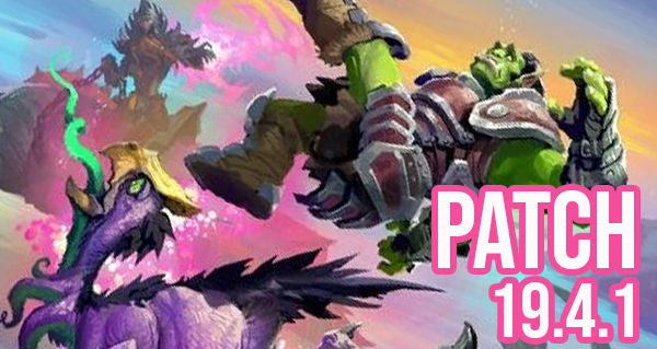 patch 19.4.1 : equilibrage pour hysterie et le mode duels