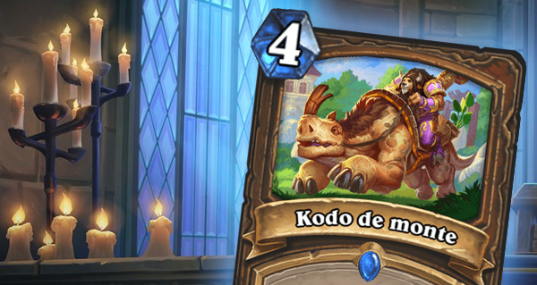 kodo de monte : nouveau sort rare pour le druide
