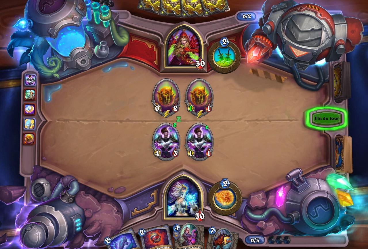 Chaque carte jouée invoque un clone 1/1 de cette carte