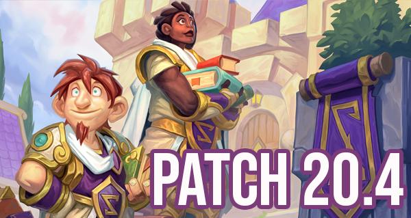 patch 20.4 : nouvel equilibrage et champs de bataille