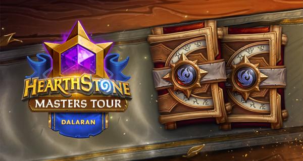 masters tour dalaran : remportez 2 paquets de cartes de l'annee du phenix