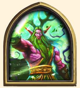 Druide - Malfurion émeraude