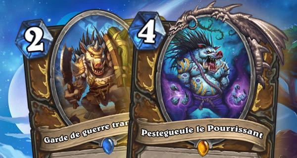les tarides : 2 nouvelles cartes dont pestegueule le pourrissant