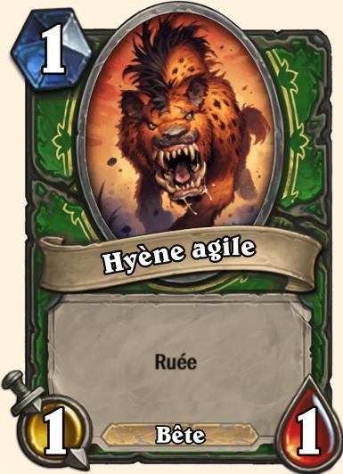 Hyène agile Tarides