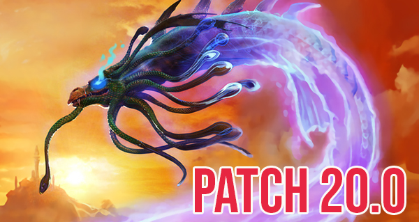 patch 20.0 : annulation d'equilibrage pour 36 cartes