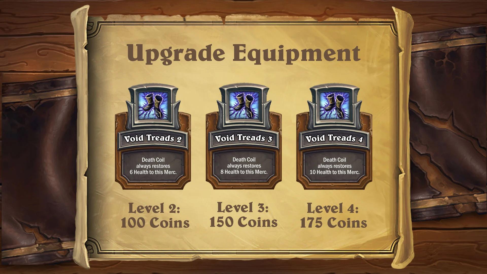 Améliorer son équipement jusqu'au Tier 4