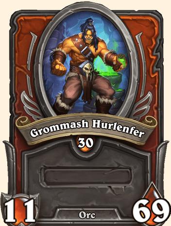 Mercenaires Hearthstone - Grommash Hurlenfer